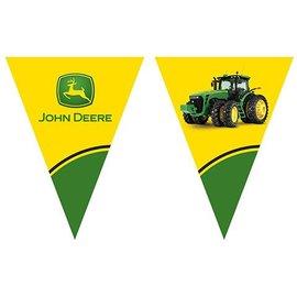 Flag Banner-Plastic-John Deere-1pkg-12ft