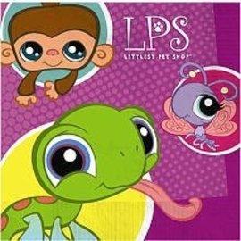 Napkins- BEV-Little Pet Shop-16pk-3ply (Discontinued)