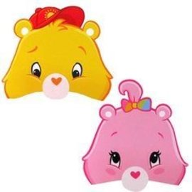 Masks-Care Bears-6pk-Paper (Discontinued)