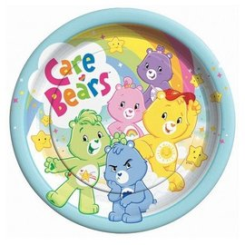 Plates-LN-Care Bears-8pk-Paper (Discontinued)