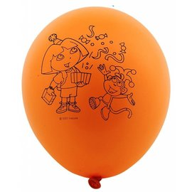 Balloons-Latex-Dora the Explorer- 6pk