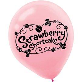 Balloons-Latex-StrawBerry Shortcake-6pk