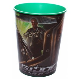 Cup-Gi Joe-Plastic-16oz  (Discontinued)