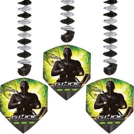 Danglers-Gi Joe-6.5''x6.5''-3pk  (Discontinued)