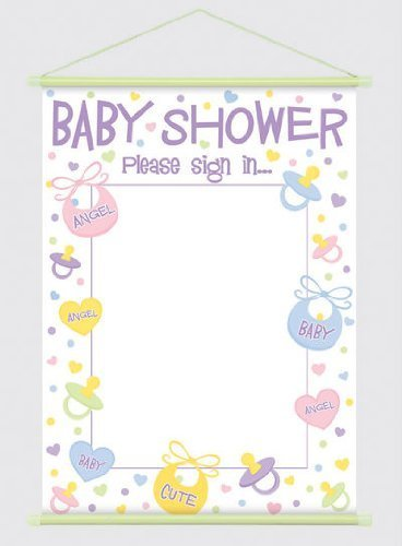 Banner Baby Shower Sign In Victoria Party Store