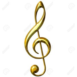 Giant Music Sign (Treble Clef)