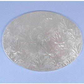 Cake Board-Silver-Foil-8''