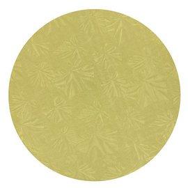 Cake Board-Round-Gold-Foil-12''