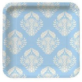Plates-BEV-Mediterranean Garden-8pkg-Paper (Discontinued)