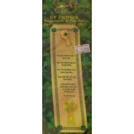 Bookmark & Pin Set-St. Patrick's Day-1pkg