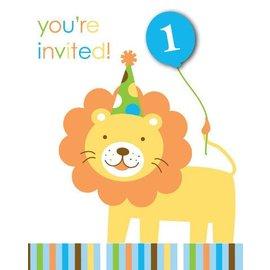 Invitations-Sweet at One Boy-8pkg