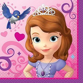 Napkins-Bev-Sofia the 1st-16pk-2ply - Discontinued