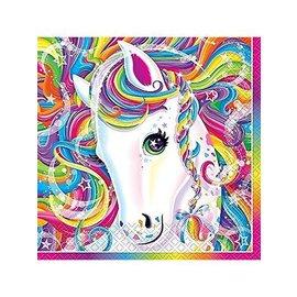Napkins-LN-Neon Pony Lisa Frank-16pk-2ply
