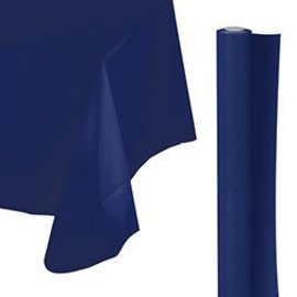 Tablecover Roll-Navy Flag Blue-100Ft-Plastic