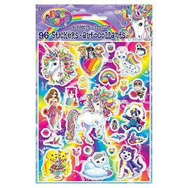 Stickers-Neon Pony Lisa Frank-96pk