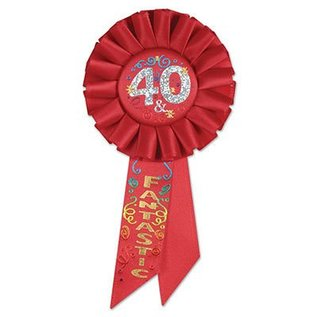 Award Ribbon-40 and Fantastic-1pkg-6.5""