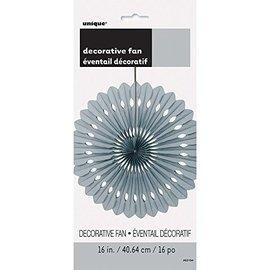 Paper Fan-Silver-16''