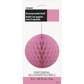 Honeycomb Ball-Hot Pink-Paper-8''