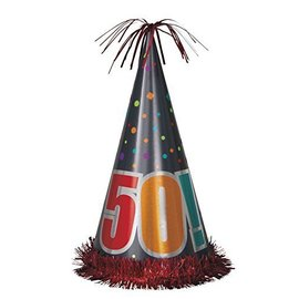 Hat-Party-Birthday Cheer 50th-15''