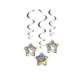 Danglers - Neon Pony Lisa Frank-3pk