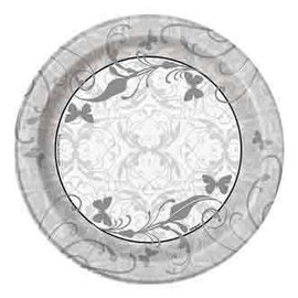 Beverage Paper Plates- Victorian Wedding- 8pk/6.75  (Discontinued)  sc 1 st  Victoria Party Store & Victorian Wedding - Victoria Party Store