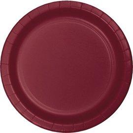 Plates-LN-Burgundy-20pkg-Paper