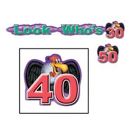 Award Ribbons- Look Whos 40