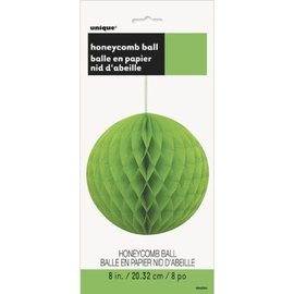 Honeycomb Ball-Lime Green-Paper-8''
