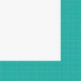 Napkins-LN-Textured Tropical Teal Border-24pkg-3ply (Discontinued)