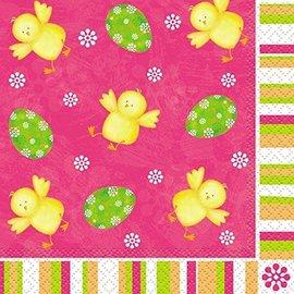 Beverage Napkins- Easter Bunny- 16pk/2ply