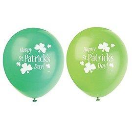 Balloons-St Pats-8pk/12''