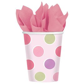 Cups-Little Princess-Paper-9oz-8pk - Discontinued
