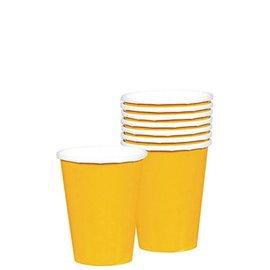 Paper Cups-Yellow Sunshine-20pkg/9oz-Paper