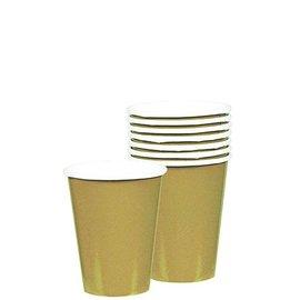 Cups-Gold-20pkg/9oz-Paper