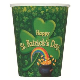 Cups-St Patrick's Day-Paper-9oz-8pk