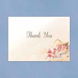 Thank You Cards-Seashell-50pk