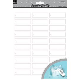 Imprintable Favor Tags-120pk