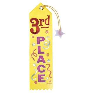 Award Ribbon-3rd Place-7.75''