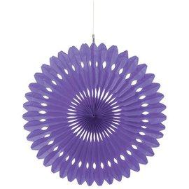 Paper Fan- Purple-16''