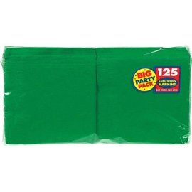 Napkins-LN-Festive Green-Value/125pk