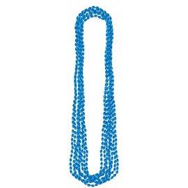 Bead Necklaces-Metallic-Blue-8pk/30''