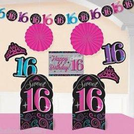 Room decorating kit-Sweet 16
