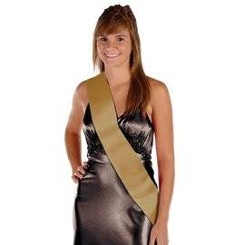 Sash-Satin-Make Your Own-Gold-1pkg
