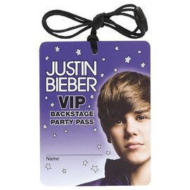 Necklace-Justin Bieber-4pk (Discontinued)