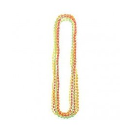 Bead Necklaces-Multi Color-Neon-Plastic-8pk/30''