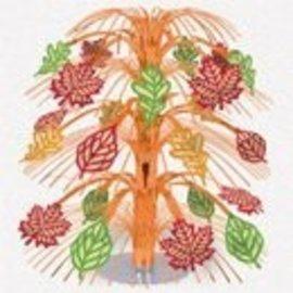 Centerpiece-Cascacde-Autumn Leaves-18''