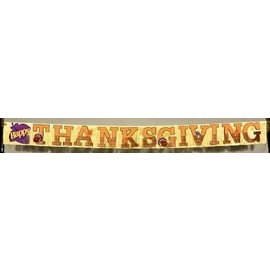 Banner- Fringe- Thanksgiving -8.2ft