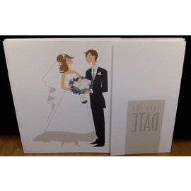 Invitations-Save the date-25pk