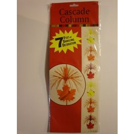 Cascade-Thanksgiving Fall Leaves-Foil-7ft