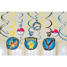 Danglers-Swirl Decor-Pokemon-12pk